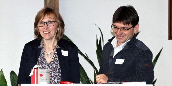 Lisa & Gerhard Straubmeier organisierten und moderierten den Tag (Foto: Straubmeier)