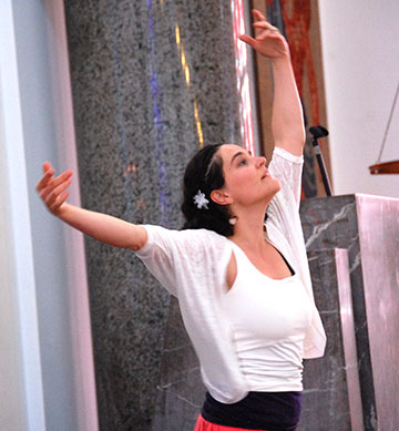 Marie-Catherine Rausch tanzt (Foto: Brehm)