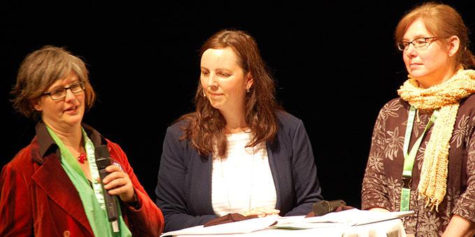 Birgit Mock, Natascha Peters und Sabine Otto (v.l.) (Foto: Brehm)