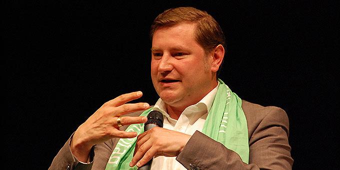 Tim-Oliver Kurzbach, Oberbürgermeister der Stadt Solingen (Foto: Brehm)