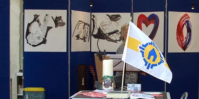 Ausstellung im Ehe-Weg Infostand (Foto: Brehm)