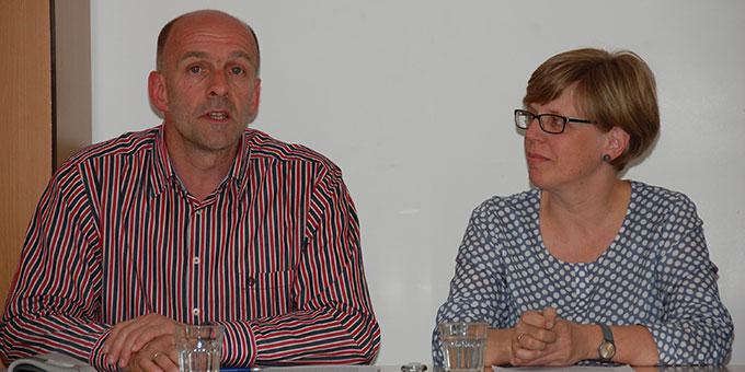Statement: Ehepaar Kerstin und Thomas Müller (Foto: Brehm)