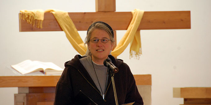 Verkündigung: Schwester Nicole Grochowina, Christusbruderschaft Selbitz(Foto: Brehm)