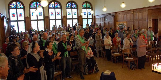 Gut 100 Teilnehmer sind gekommen (Foto: Brehm)