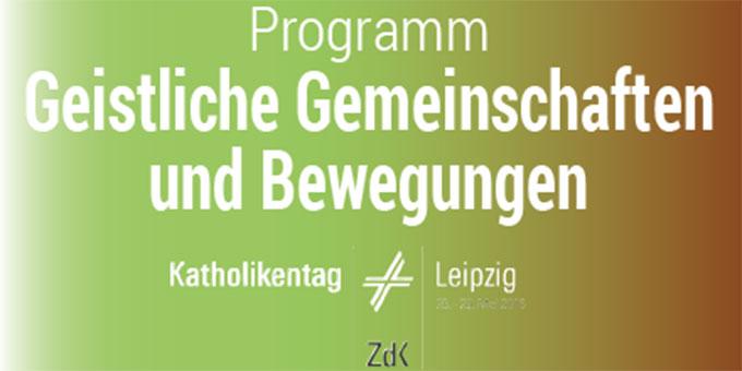 Programm der GGG beim Katholikentag in Leipzig (Foto: GGG)
