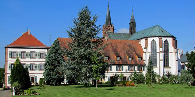 Basilika Notre-Dame de Marienthal / Hagenau (Foto: By Rh-67 - Own work, CC BY-SA 3.0, https://commons.wikimedia.org/w/index.php?curid=11573838)