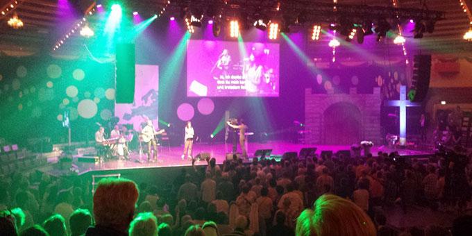 Warm Up im Cirkus Krone Bau, München  Up Veranstaltung von Miteinander für Europa im  (Foto: Koni Brand)