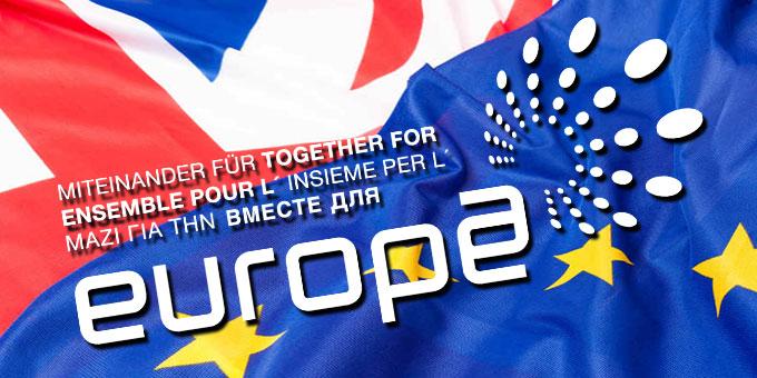 Miteinander für Europa im Zeichen des Brexit (Grafik: Brehm)