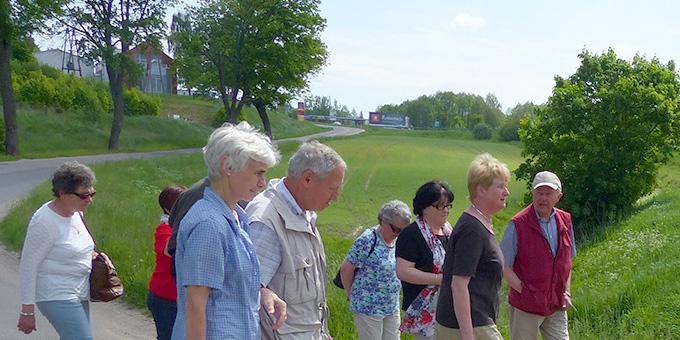 Prositty-Pilger zu Fuß unterwegs (Foto: A. Busch)