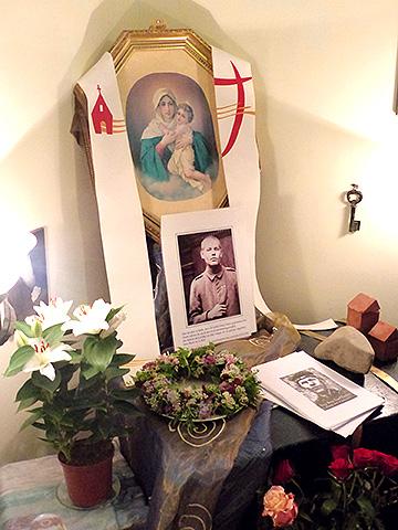 Hausheiligtum im Hause Engling (Foto: A. Busch)