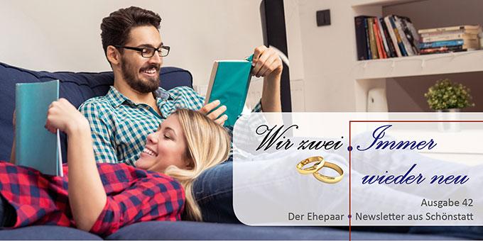 "Ehepaar-Newsletter 06/2016 ""Wir zwei - Immer wieder neu"" (Foto: © bernardbodo- Fotolia.com)"