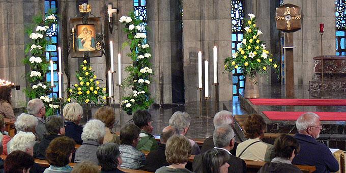 Mai-Schluss-Feier im Schönstatt-Zentrum Liebfrauenhöhe (Foto: Gehrlein)