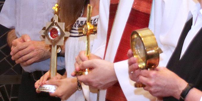 Pallotti-Reliquie aus Sasbach - Eine Schenkung durch Kardinal Bea (Foto: Roland Spether)