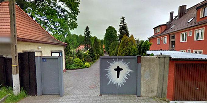 Zugang zum Schönstatt-Heiligtum in Rokitnica (Foto: www.syd2016.com)