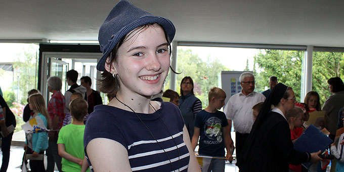 Journalistisches Nachwuchstalent: Maria Haag (Foto: Hartmann)