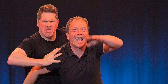 Thilo Krämer und Bernd Bentele (Foto: Graf)