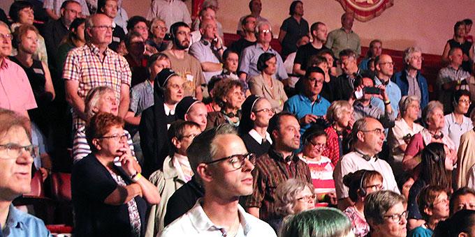 """Zweiter Kongressmorgen von """"Miteinander für Europa"""" in München (Foto: MfE, Haaf)"""