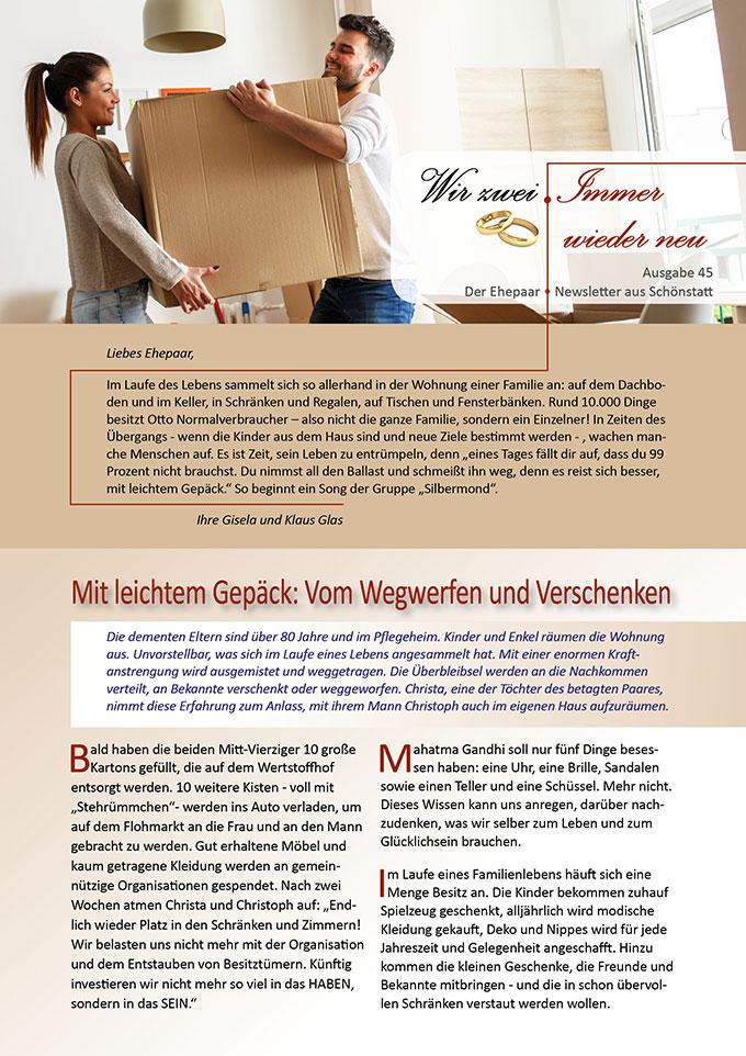 """Ehepaar-Newsletter 09/2016 """"Wir zwei - Immer wieder neu"""" (Foto: © SolisImages - Fotolia.com)"""