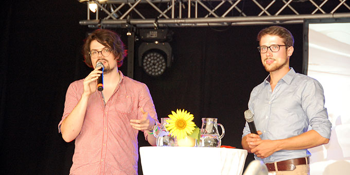 Thomas Parlaska (links) und Sebastian Roth (Foto: Brehm)