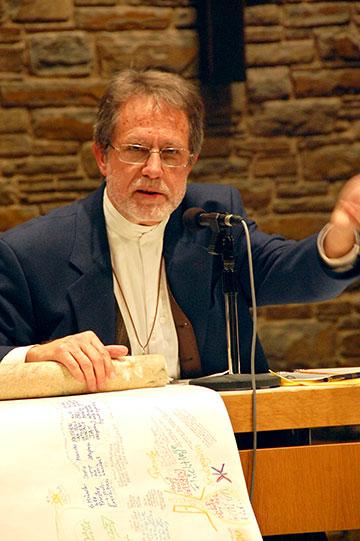 Pfr. Kurt Faulhaber, Pastoral am Puls, Freiburg und Heidelberg (Foto: Brehm)
