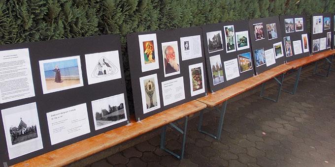 Eine von Martin Jackl konzipierte Ausstellung machte etwas Geschichte des Zentrums lebendig (Foto: Jackel)