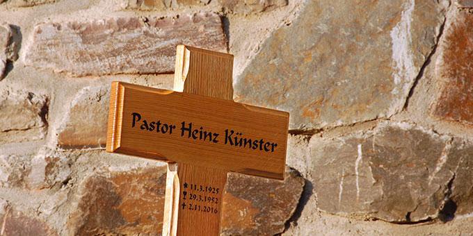 Begräbnis von Pastor Heinz Künster (Foto: Brehm)