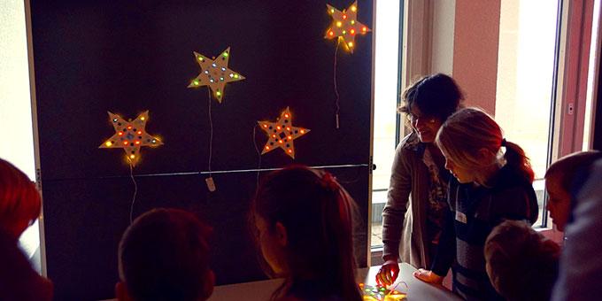 LED-Sterne sind entstanden (Foto: Güserle)