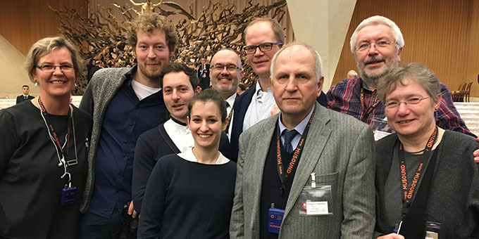 Die deutsche Delegation von WiG (Foto: Hirschmuggl)