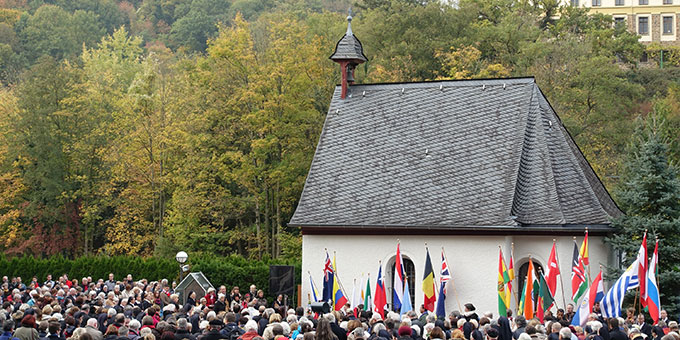 Urheiligtum - die Gnadenkapelle in Vallendar-Schönstatt (Foto: Pilgerzentrale Schönstatt)