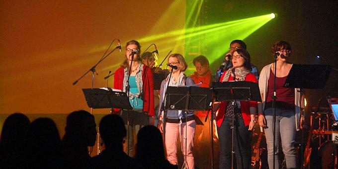 """NdH-Musikgruppe """"schön.statt.laut"""" (Foto: Brehm)"""
