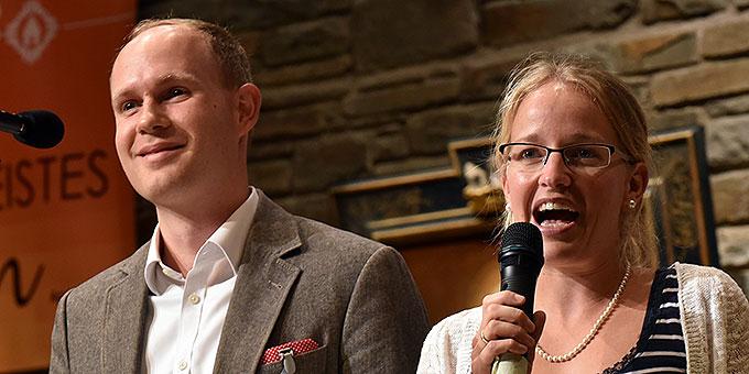 Ramona und Benjamin Brähler (Foto: Kröper)