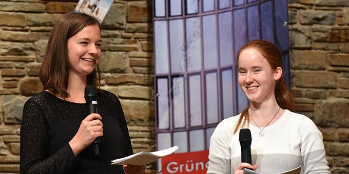 Stephanie Elbert und Simone Barthel (Foto: Kröper)