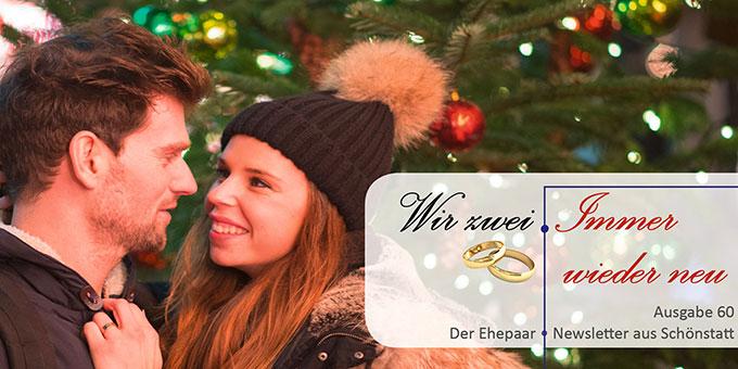"""Ehepaar-Newsletter 12/2017 """"Wir zwei - Immer wieder neu"""" (Foto: pixabay.com)"""
