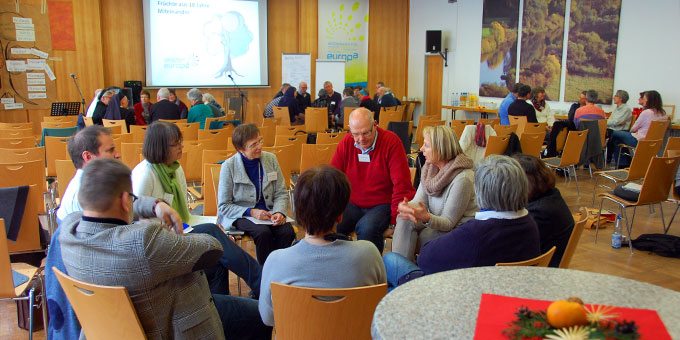 Gespräche in Regionalgruppen (Foto: Brehm)