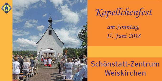 Einladung zum Kapellchenfest nach Weiskirchen