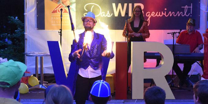 Beim Familienfestival in Schönstatt (Foto: Kröper)