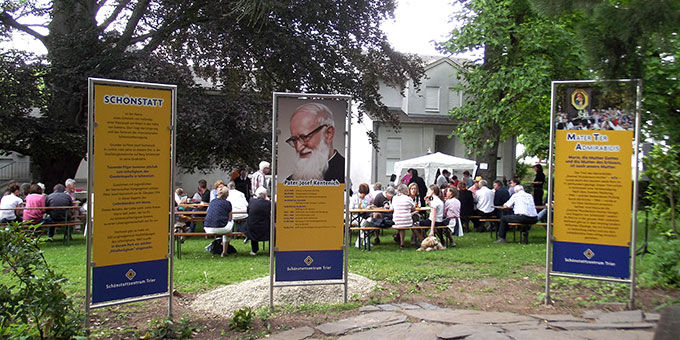 Nachbarschaftsfest im Schönstatt-Zentrum Trier (Foto: Brück)