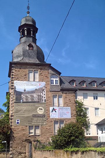 Ein schöner Ort, nur 10 Gehminuten von der Schönstätter Gnadenkapelle entfernt, um seinen Lebensabend zu verbringen (Foto: Brehm)
