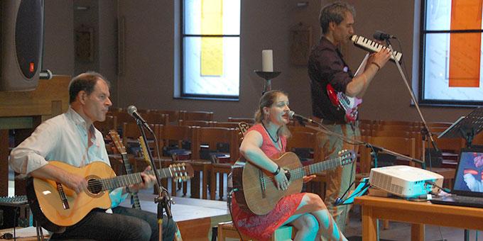 """Das Konzert """"Trag mich - Liebeslieder"""" begeisterte die Zuhörerinnen und Zuhörer (Foto: Brehm)"""