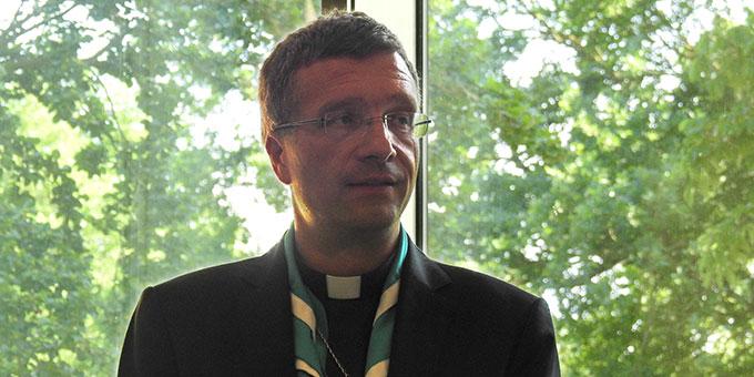 Dr. Michael Gerber, Freiburg, Berichterstatter aus einer der Gesprächsgruppen (Foto: McClay)