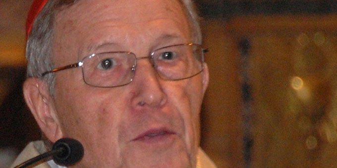 Kardinal Walter Kasper (Foto: Brehm)