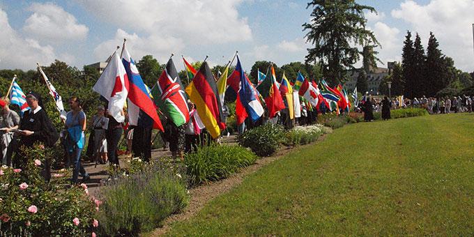 Eine ganz international gestaltete Feier (Foto: S-MS)