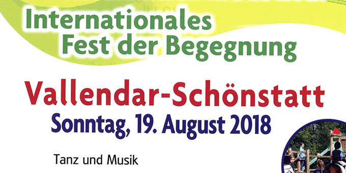 Internationales Fest der Begegnung (Layout: Pilgerzentrale)