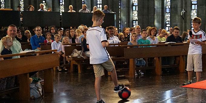 Begeisterte Fußballer (Foto: Carten)