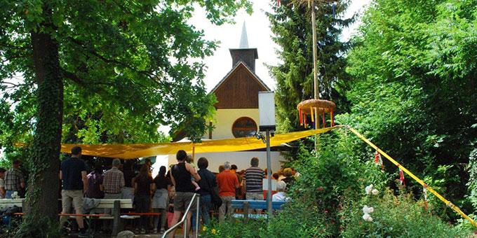 Festgottesdienst zum Käppelesfest in Ulm-Söflingen (Foto: Schick)