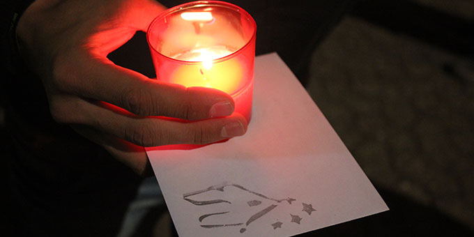 Ein Liebesbündnisbrief für Maria (Foto: NdH)