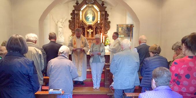 Feierstunde im Schönstatt-Heiligtum in Essen (Foto: Kozura)