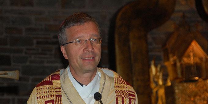 Predigt: Weihbischof Dr. Michael Gerber, Freiburg (Foto: Brehm)