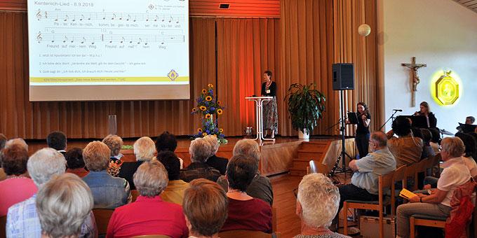 Zum Kentenich-Tag im Schönstatt-Zentrum Liebfrauenhöhe entstanden: ein neues Kentenich-Lied: (Foto: LH)
