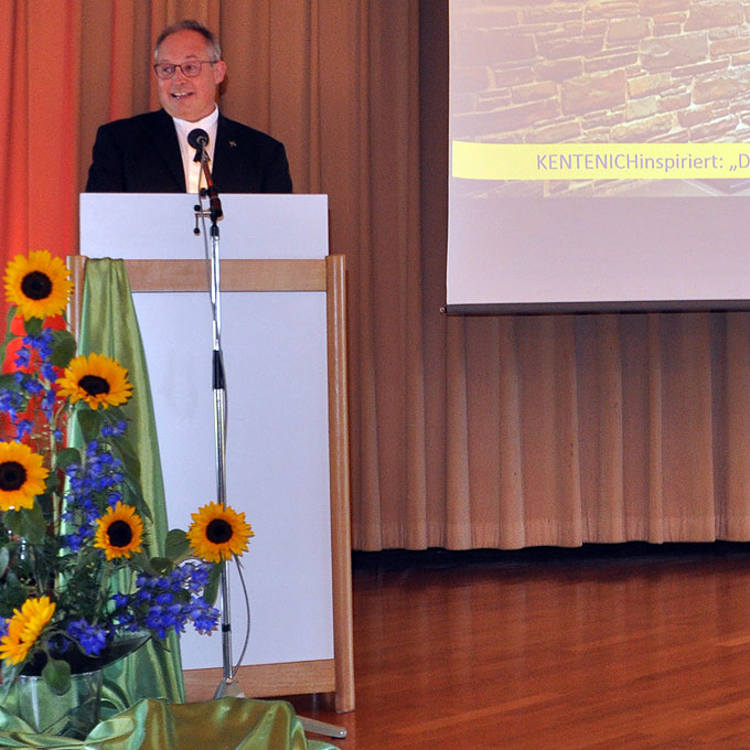 Vortrag Klaus Rennemann(Foto: LH)